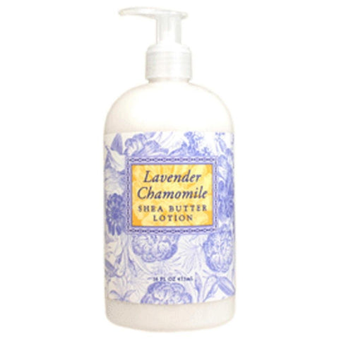 Lavender Chamomile Scented Shea Butter Lotion 16 oz By Greenwich Bay Trading Co.