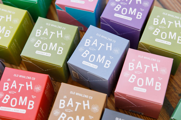 Old Whaling Company Bath Bomb Collection