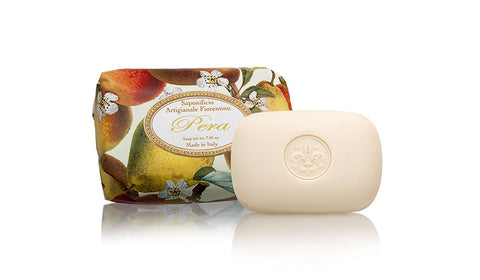Pear (Pera) Scent 7.05 oz Soap Bar By  Saponificio Artigianale Fiorentino