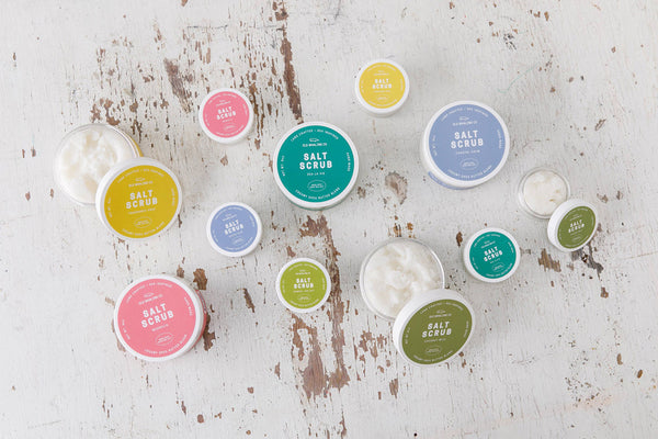 Old Whaling Company Salt Scrub Collection
