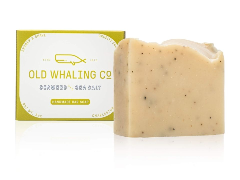 Seaweed & Sea Salt Scented 5 oz Bar Soap