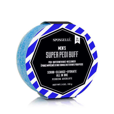 Men's Super Pedi Buffer - Verbena Absolute By Spongelle