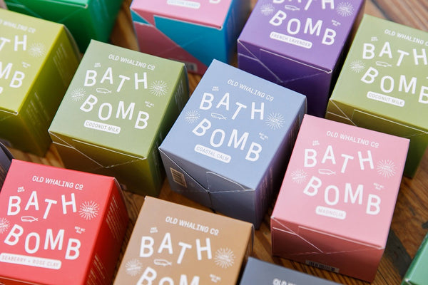 Bath Bomb Collection By Old Whaling Company