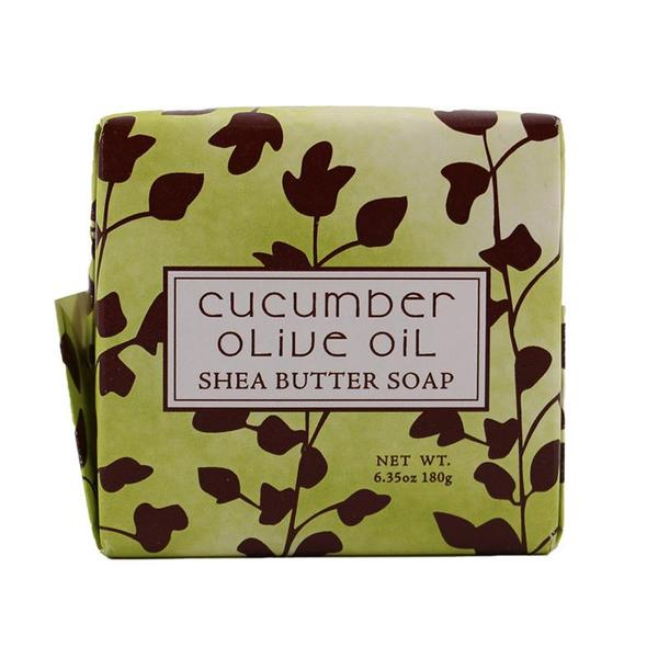 Cucumber Olive Scented Bar Soap 6.35 oz