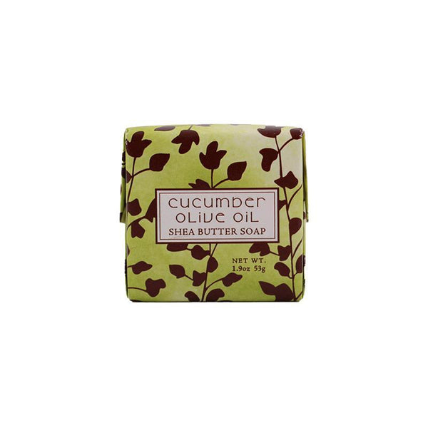Cucumber Olive Scented Bar Soap 1.9 oz