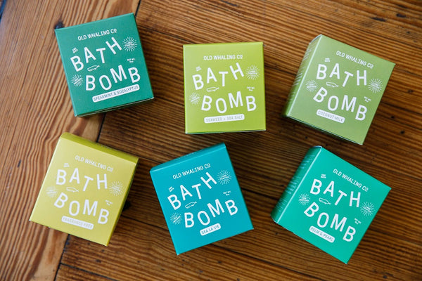 8 oz Bath Bomb Collection By Old Whaling Company