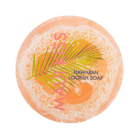 Maui Kiss Scented 4.7 oz Hawaiian Loofah Soap By Maui Soap Company