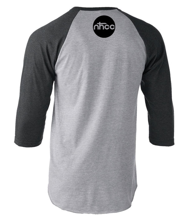 NHCC | GRAY 3/4 SLEEVE | CROSS