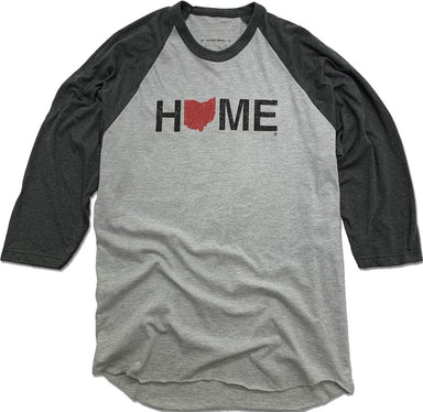 OHIO 3/4 SLEEVE | HOME | RED/BLACK