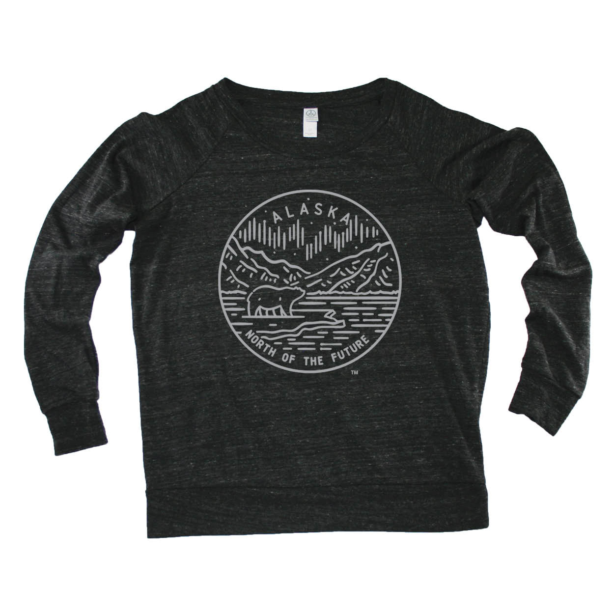 ALASKA LADIES' SLOUCHY | STATE SEAL |  NORTH OF THE FUTURE