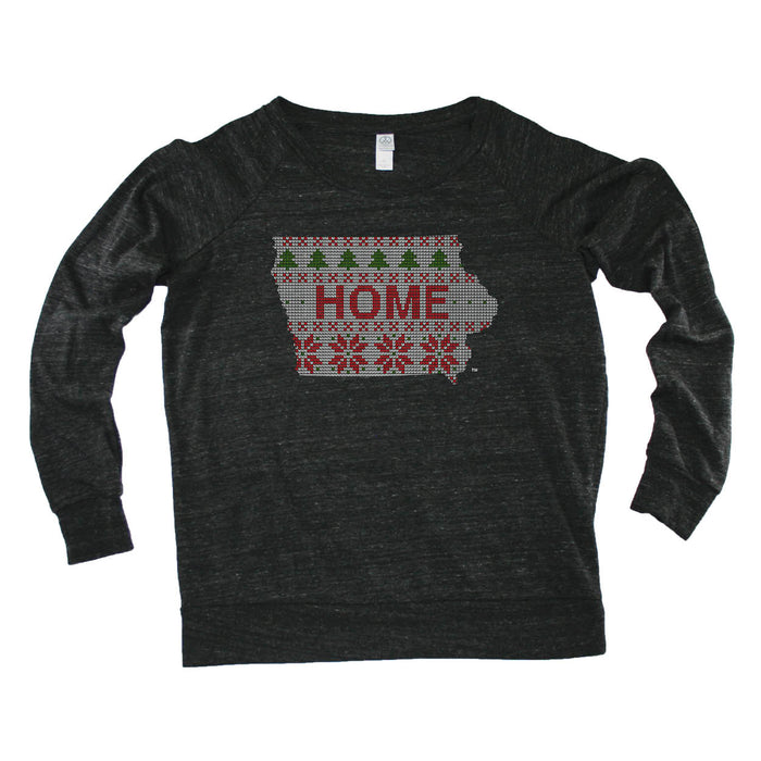 IOWA LADIES' SLOUCHY | HOME | SWEATER
