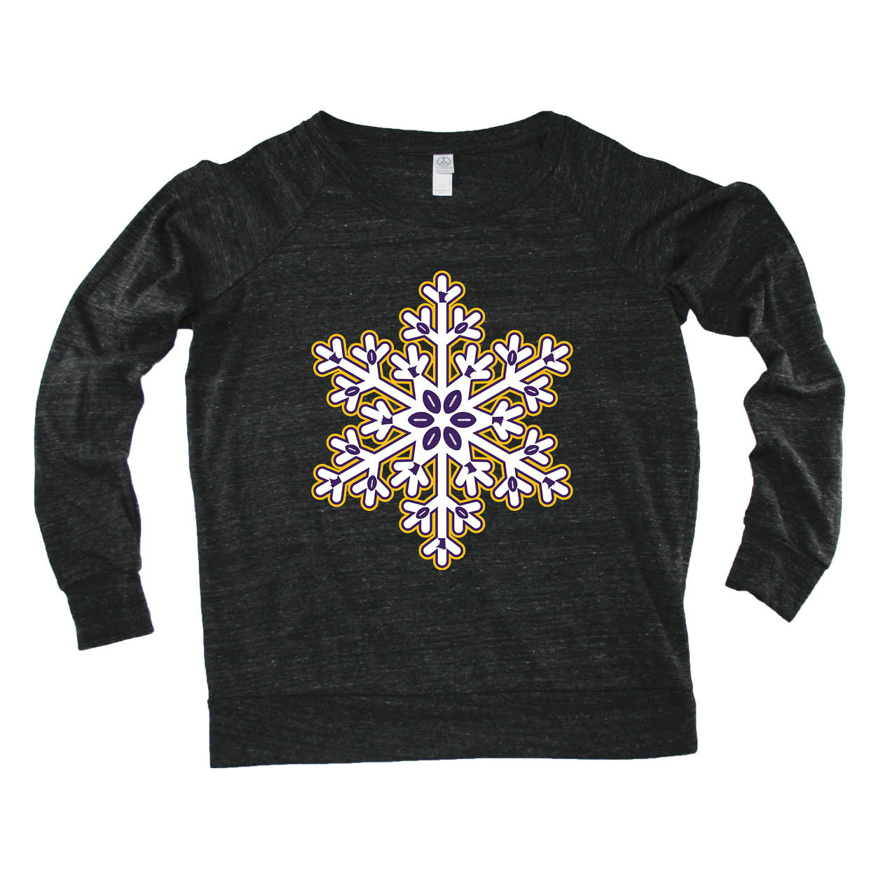 MINNESOTA LADIES' SLOUCHY | SNOWFLAKE | PURPLE/GOLD