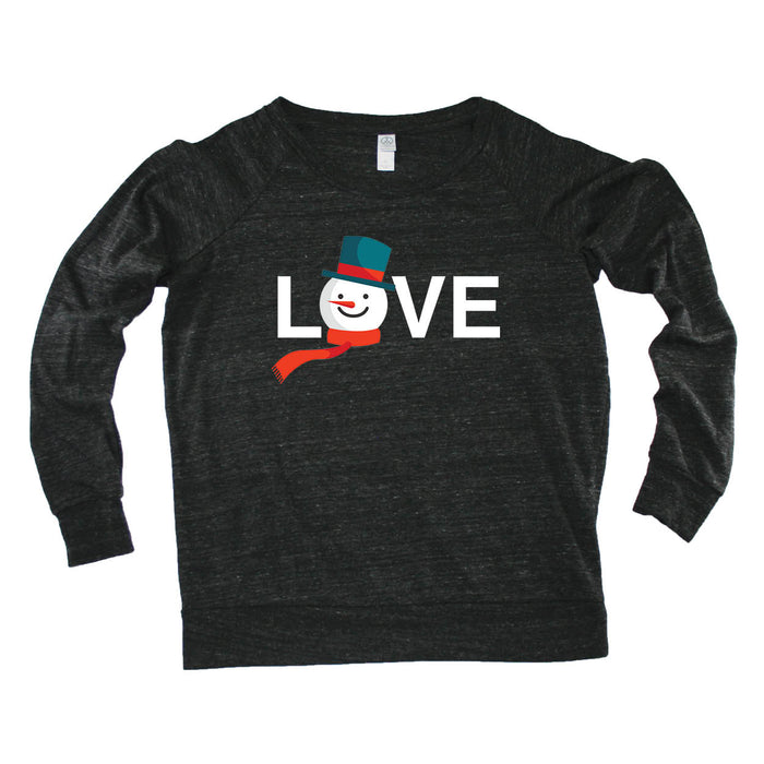 ALL STATES LADIES' SLOUCHY | LOVE | SNOWMAN