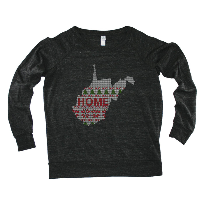 WEST VIRGINIA LADIES' SLOUCHY | HOME | SWEATER
