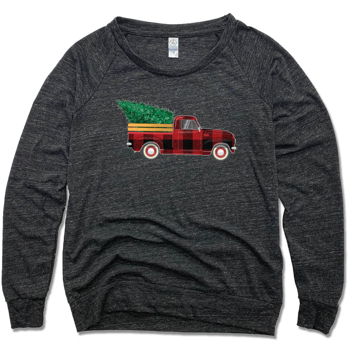 HOLIDAY TRUCK | SLOUCHY | PLAID