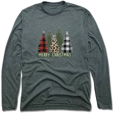 STEEL FORTRESS COFFEE | UNISEX LONG SLEEVE TEE | CHRISTMAS PATTERNS
