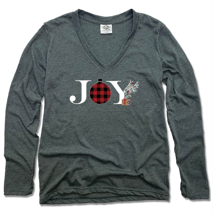 JOY | LADIES LONGSLEEVE | FLANNEL ORNAMENT
