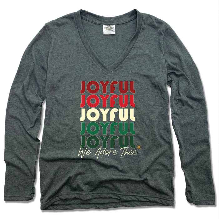 JOYFUL JOYFUL | LADIES LONGSLEEVE | REPEAT