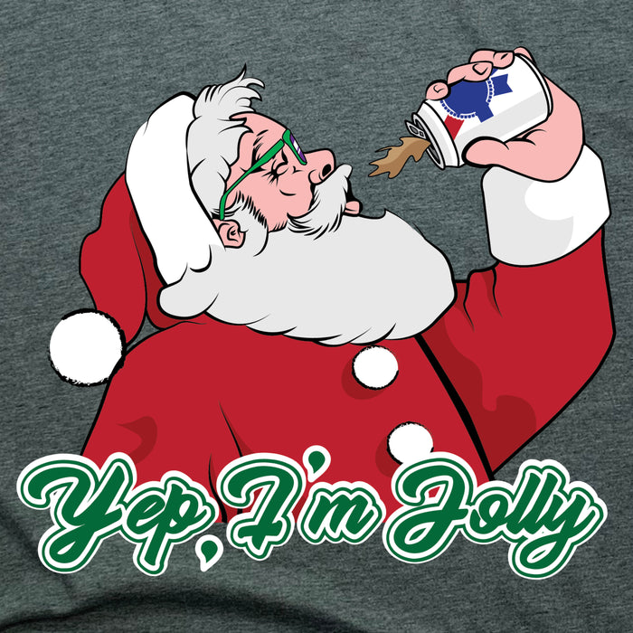 SANTA | 3/4 SLEEVE | YEP I'M JOLLY