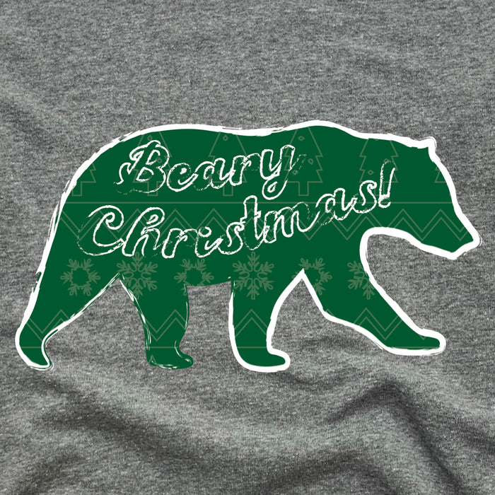 BEAR | ONESIE GRAY | BEARY CHRISTMAS