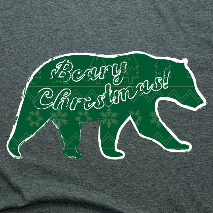 BEAR | LADIES V-NECK | BEARY CHRISTMAS