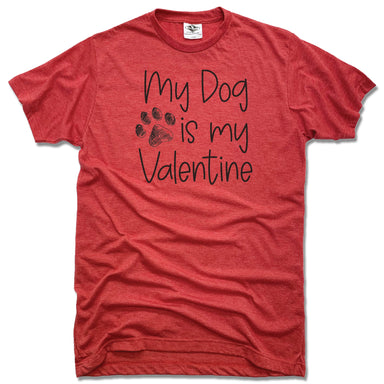 DOG | UNISEX RED TEE | VALENTINE
