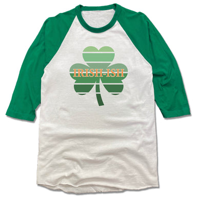 IRISH-ISH | 3/4 SLEEVE | SHAMROCK