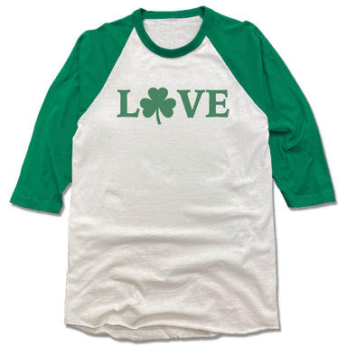 LOVE | 3/4 SLEEVE | SHAMROCK