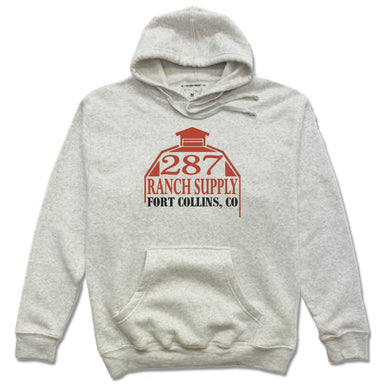 287 RANCH SUPPLY & BOUTIQUE | FRENCH TERRY HOODIE | LOGO