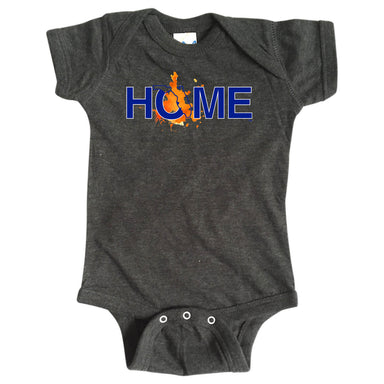 FLORIDA ONESIE | HOME | PAINTED BLUE/ORANGE