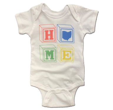 OHIO ONESIE WHITE | HOME | BLOCKS