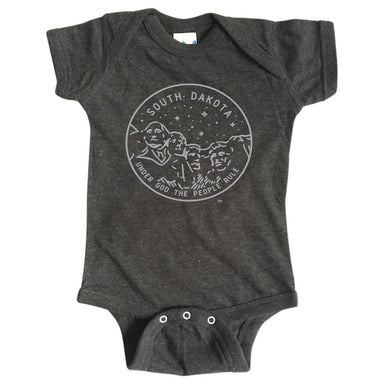 SOUTH DAKOTA ONESIE | STATE SEAL | UNDER GOD THE PEOPLE RULE