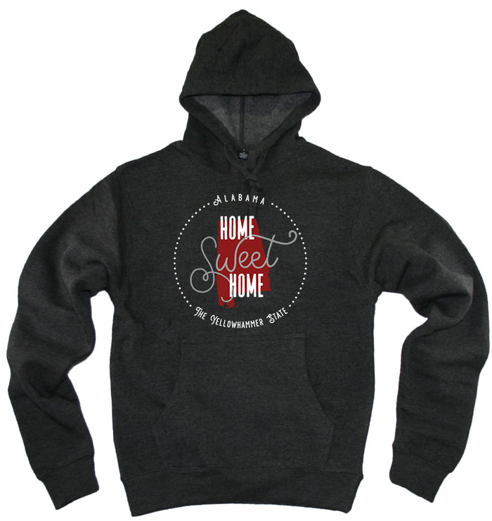 ALABAMA HOODIE | HOME SWEET HOME | RED