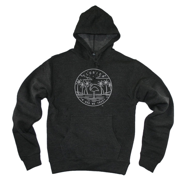 FLORIDA HOODIE | STATE SEAL | IN GOD WE TRUST