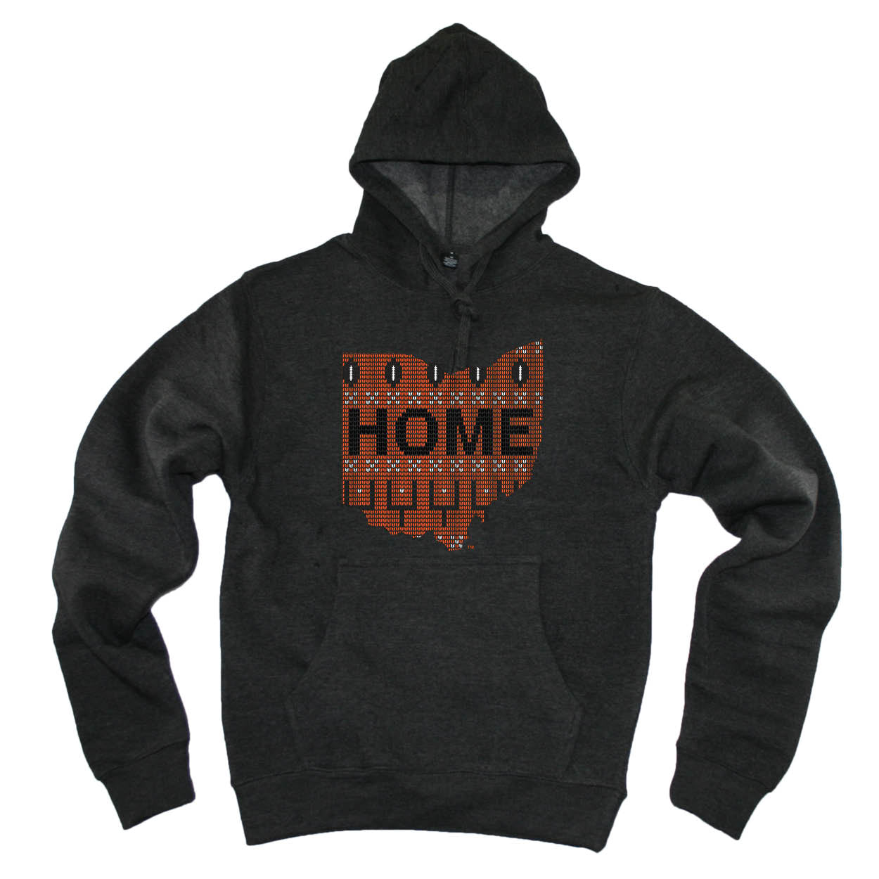 OHIO HOODIE | HOME | SWEATER ORANGE/BLACK