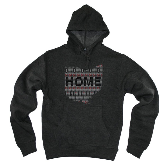 OHIO HOODIE | HOME | SWEATER GRAY/BLACK