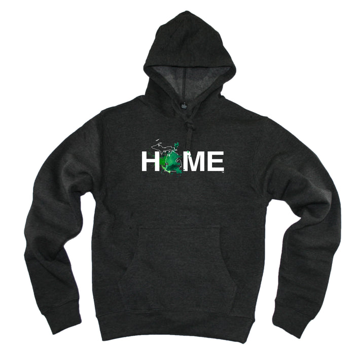 MICHIGAN HOODIE | HOME | PAINTED BLUE/GREEN