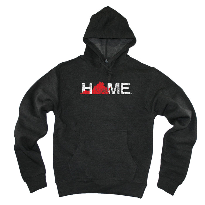VIRGINIA HOODIE | HOME | RED