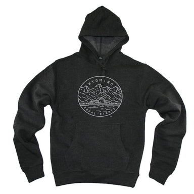 WYOMING HOODIE | STATE SEAL | EQUAL RIGHTS