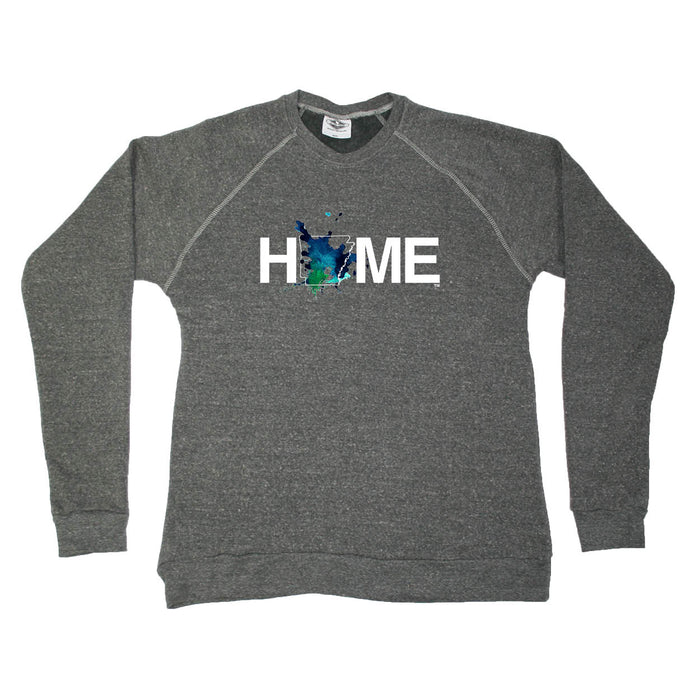 ARKANSAS SWEATSHIRT | HOME | PAINTED BLUE/GREEN