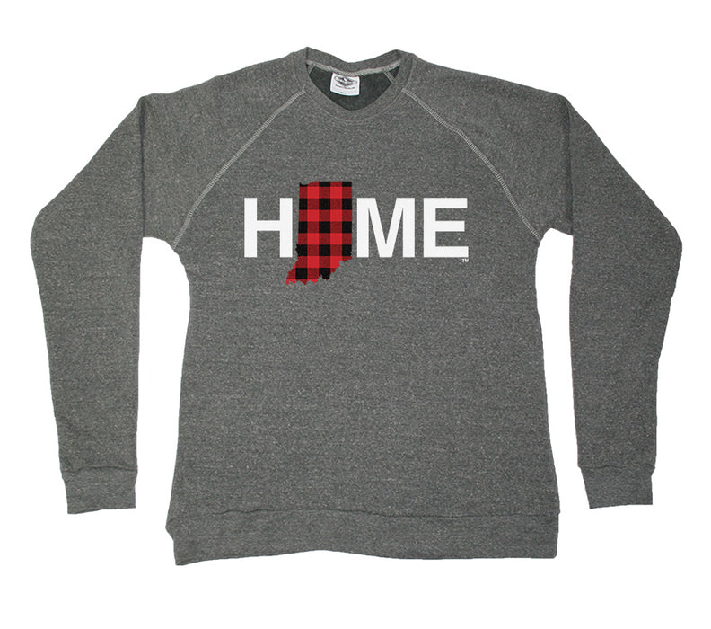 INDIANA SWEATSHIRT | HOME | PLAID