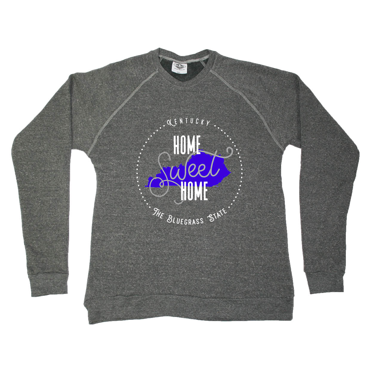 KENTUCKY SWEATSHIRT | HOME SWEET HOME | BLUE