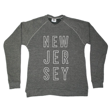 NEW JERSEY SWEATSHIRT | STACKED | LETTERS