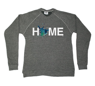 OHIO SWEATSHIRT | HOME | PAINTED BLUE/GREEN