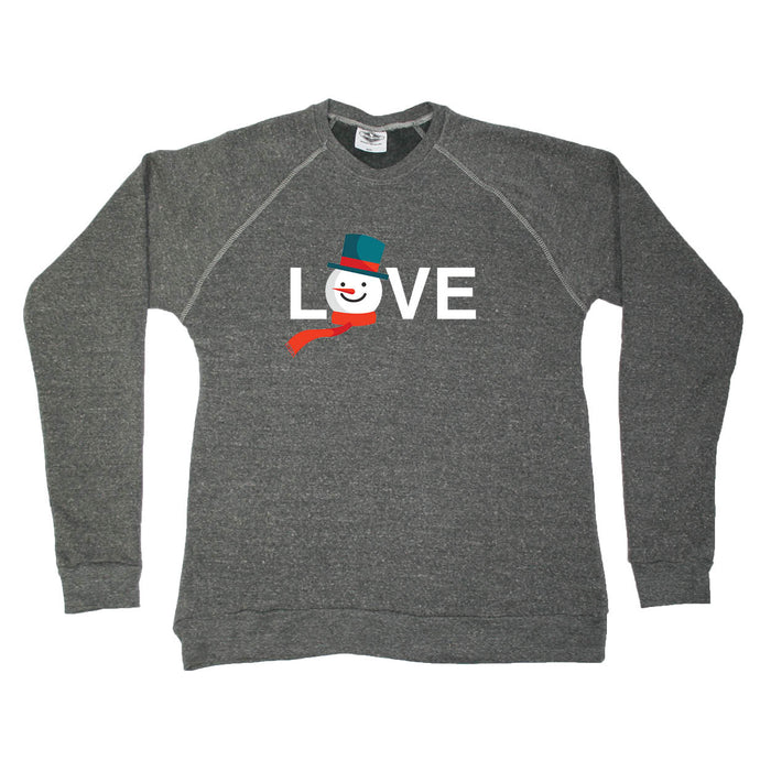 ALL STATES SWEATSHIRT | LOVE | SNOWMAN