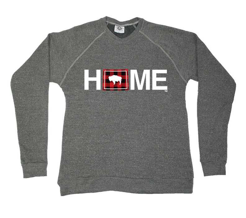WYOMING SWEATSHIRT |HOME | PLAID