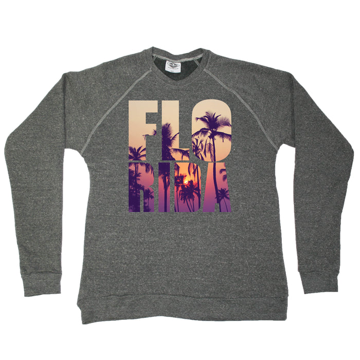 FLORIDA SWEATSHIRT | STACKED | PALM TREES