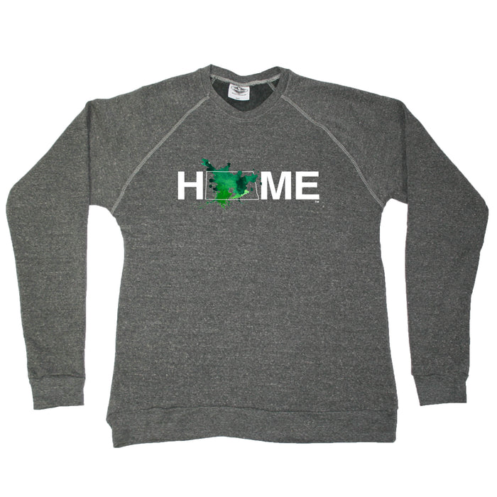 NORTH DAKOTA SWEATSHIRT | HOME | PAINTED BLUE/GREEN