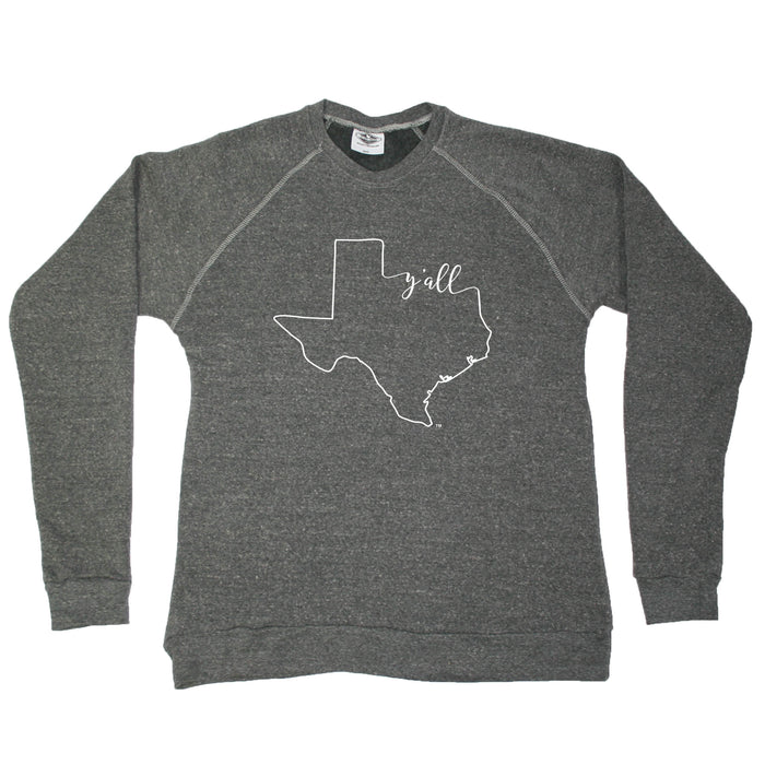TEXAS SWEATSHIRT | OUTLINE | Y'ALL