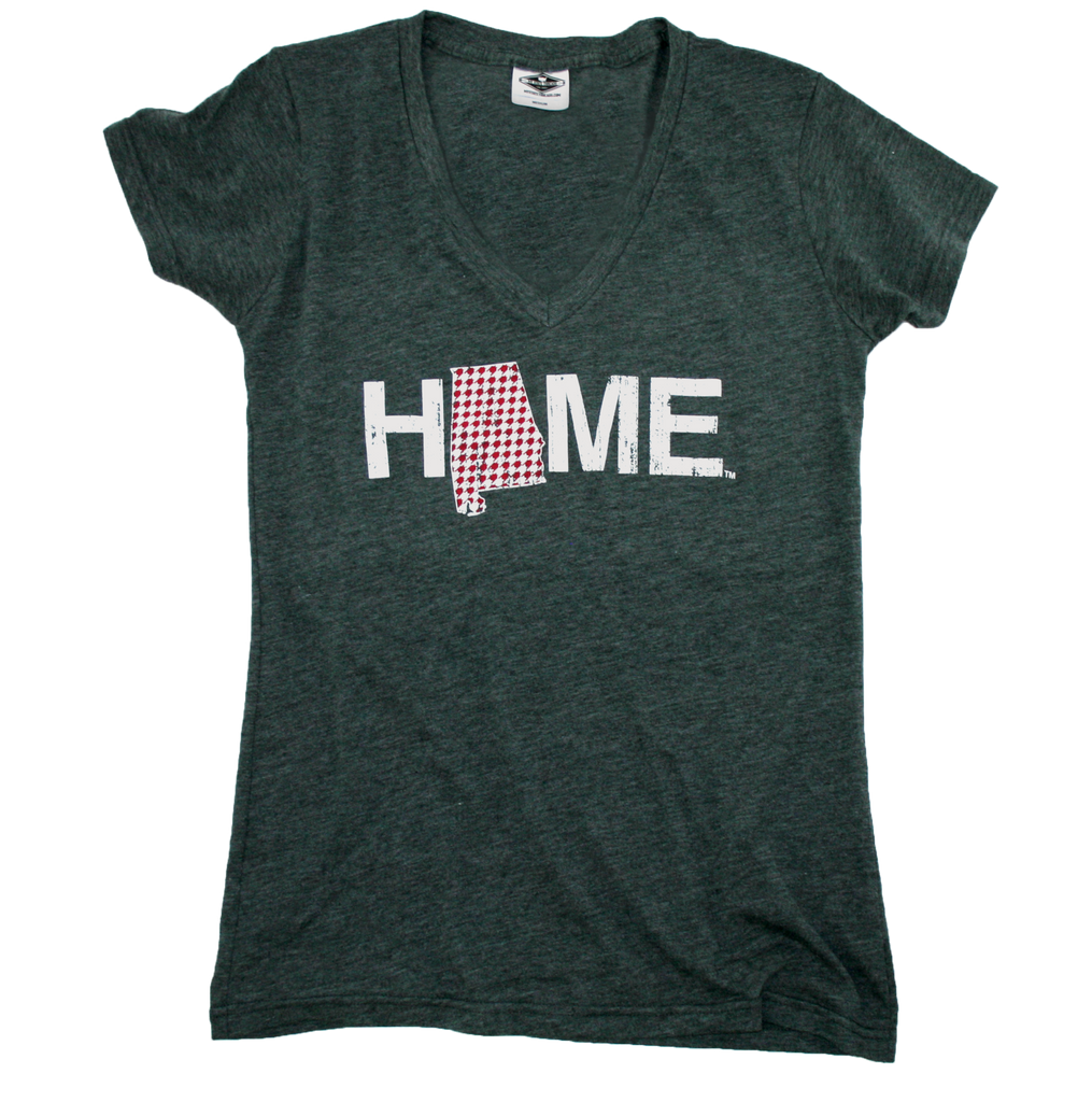 ALABAMA LADIES V-NECK | HOME | HOUNDSTOOTH